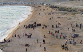 اجرای طرح سین هشتم در ساحل کلندون پارسیان