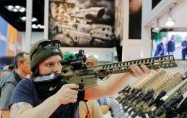 نمایشگاه بزرگ اسلحه در آمریکا