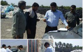 پلمپ یک واحد آلاینده در بخش جغین شهر ستان رودان