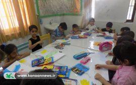 حضور پرشور کودکان ونوجوانان در کلاسهای تابستانه بستک