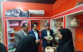 فروشگاه دائمی صنایع دستی درشهرستان بستک افتتاح شد
