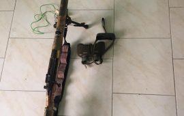 دستگیری متخلف شکاروصید در شهر ستان بندرلنگه
