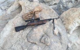 کشف و ضبط یک قبضه سلاح جنگی سیمینوف در شهر ستان بندرلنگه