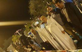نمایشگاه صنایع دستی وغذای محلی به مناسبت هفته دولت در روستای چاه بنارد شهرستان بستک