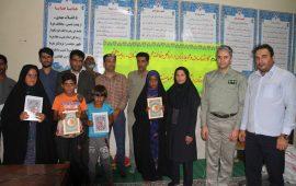 از دانش آموزان بشاگردی که در جشنواره همیار محیط زیست فعال بودند تقدیرشد