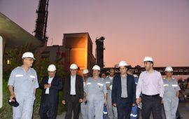 بازدید اعضای کمیسیون انرژی مجلس شورای اسلامی از پالایشگاه لاوان