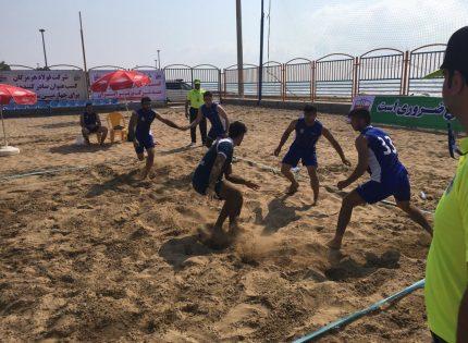 اعلام نتایج مرحله اول مسابقات کبدی ساحلی قهرمانی کارگران کشور در بندرعباس