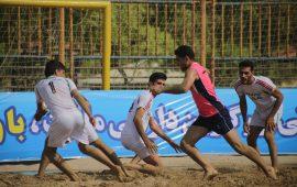 صعود دو تیم فولاد هرمزگان به مرحله نیمه نهایی مسابقات کبدی ساحلی کارگران