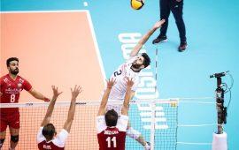 پایان تلخ والیبال ایران با شکست مقابل لهستان