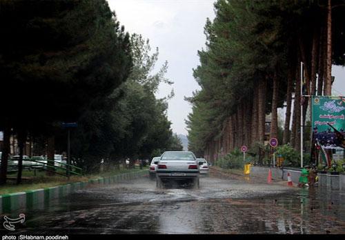 پیشبینی بارش باران پنج روزه در ۲۰ استان