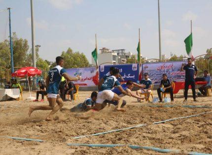 آغاز برگزاری رقابتهای کبدی ساحلی کارگران کشور در بندرعباس