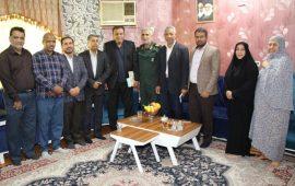 دیدار با باقر عارفه جانباز شیمیایی دفاع مقدس استان هرمزگان