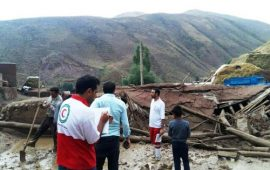 امدادرسانی به ۱۵۳نفر در سیل و آبگرفتگی ۲ استان