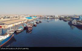بیش از ۱ میلیون و۳۰۰ هزار تن کالادر بندر شهید باهنرجابجا شد /۸۰ درصد رشد درصادرات مواد نفتی