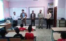 اجرای طرح ملی یک ساعت با محیط بان در شهرستان ابوموسی