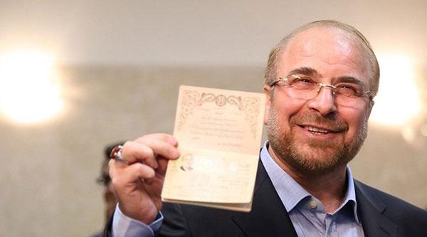 قالیباف با کنایه به دولت، اعلام کاندیداتوری کرد