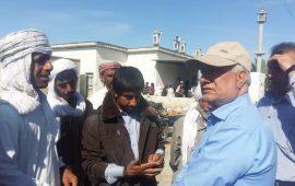 بازدید رئیس سازمان جهاد کشاورزی هرمزگان از مناطق سیل زده شهرستان جاسک