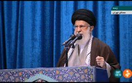 بیانات بسیار مهم رهبر انقلاب در نماز جمعه تاریخساز: اراده خداوند بر پیروزی ملت ایران است