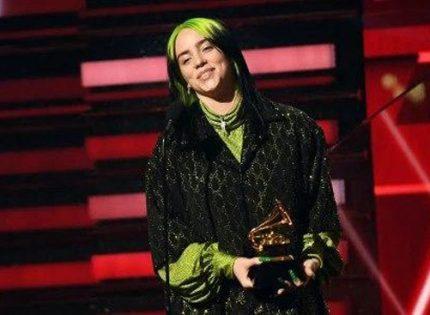 دختری که جوایز گِرَمی ۲۰۲۰ را درو کرد
