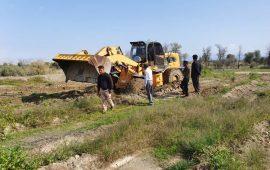 رفع تصرف ۳۰ هکتار از اراضی ملی در هشتبندی میناب