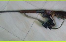 یک نفر متخلف شکاروصید در شهرستان رودان دستگیرشد