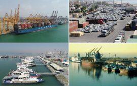 خدمات رسانی به ۱۴میلیون نفر سفر در پایانه های دریایی هرمزگان