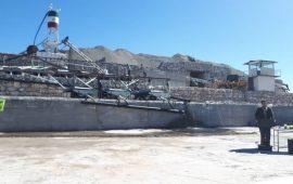بهره برداری از کارخانه کنسانتره کرومیت در شهرستان حاجی آباد