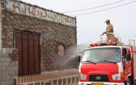 ضدعفونی اماکن عمومی روستاهای مرزی هرمزگان با قوت در حال انجام است